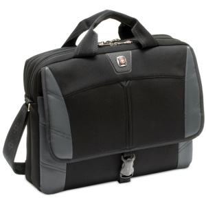 "SwissGear SHERPA GA-7467-14F00 Carrying Case (Sleeve) for 17"" Notebook - Gray - Neoprene, Polyester"