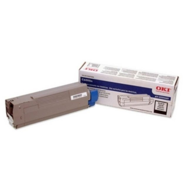 Oki Black Toner Cartridge - Black - LED - 5000 Page - 1 Each