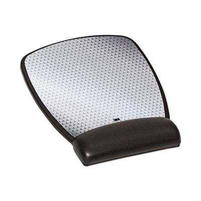 3M Leatherette Gel Mouse Pad Wrist Rest