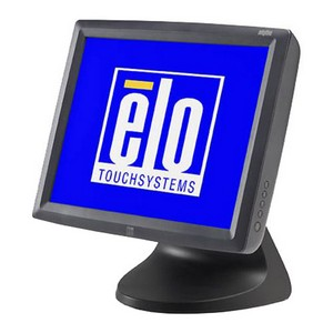 Elo 3000 Series 1529L Touch Screen Monitor - 15&quot; - Surface Acoustic Wave - 1024 x 768 - 4:3 - Dark Gray