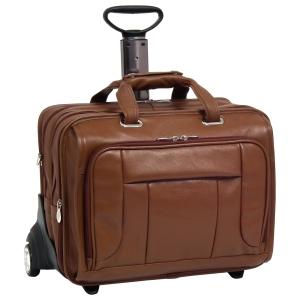 McKlein 15704 Notebook Case - Leather - Brown