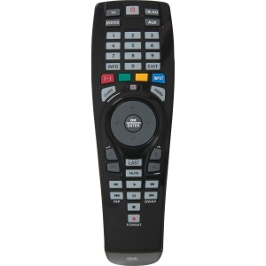 Audiovox OARC04G Universal Remote Control - For TV, DVD Player, VCR, Cable Box, Satellite Box, Auxiliary