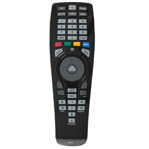 Audiovox OARC05G Universal Remote  - Control DVD Player, TV, VCR, Cable/Satellite, and More