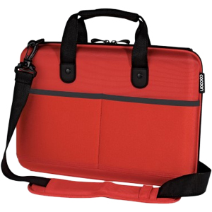 "Cocoon CPS365RD Carrying Case (Attaché) for 13"" Notebook - Racing Red - Ethylene Vinyl Acetate (EVA)"