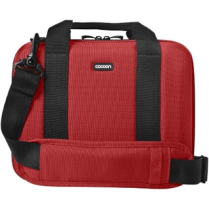 "Cocoon Murray Hill CNS340 Carrying Case for 10.2"" Netbook, Notebook - Racing Red - Shock Absorbing, Water Resistant - Ethylene Vinyl Acetate (EVA)"