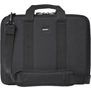 "Cocoon Murray Hill CLB403 Carrying Case for 16"" Notebook - Black, Gray - Shock Absorbing, Water Resistant - Ethylene Vinyl Acetate (EVA), Ballistic Nylon"