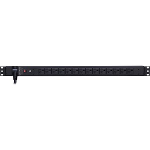 CyberPower Basic PDU20BVT14F 14-Outlets PDU - 14 x NEMA 5-20R - Rack-mountable, Zero U Vertical Rackmount