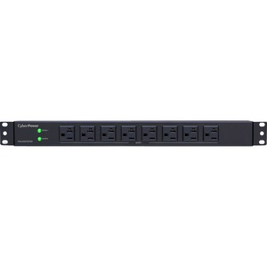 CyberPower Basic PDU30BT8F8R 16-Outlets PDU - 16 x NEMA 5-20R - 1U Rack-mountable, Zero U Vertical Rackmount