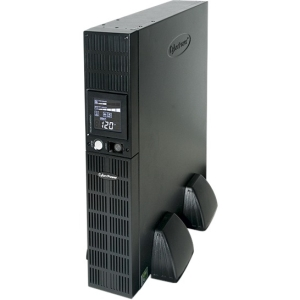 CyberPower OR2200PFCRT2U PFC Sinewave UPS System 2000VA 1320W Rack/Tower PFC compatible Pure sine wave - 2000VA/1320W - 2UTower/Rack Mountable 7.8Minute Full Load - 8 x NEMA 5-20R - Battery/Surge-protected