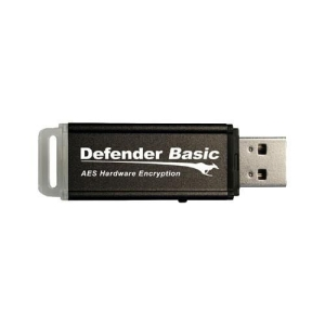 Kanguru Defender Basic KDFB-4G 4 GB USB 2.0 Flash Drive - Black