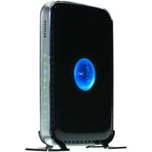 Netgear - RangeMax WNDR3400 Wireless Router - 4 x 10/100Base-TX Network LAN, 1 x 10/100Base-TX Network WAN - IEEE 802.11n (draft) - 600Mbps