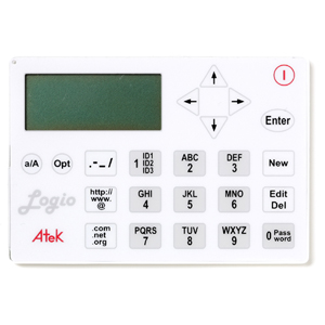 Atek Logio Secure Password Organizer, white