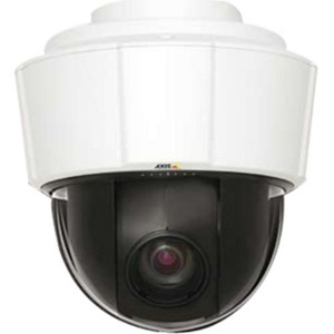 Axis Surveillance/Network Camera - Color, Monochrome - 18x Optical - CCD - Cable