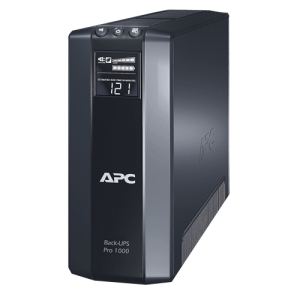 APC Back-UPS RS BR1000G 1000 VA Tower UPS - 1 kVA/600 WTower 0.12 Hour Full Load - 4 x NEMA 5-15R - Battery Backup System, 4 x NEMA 5-15R - Surge-protected