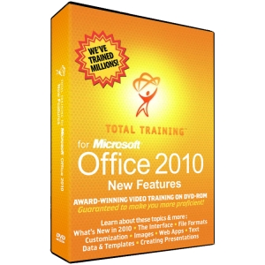 Total Training for MS Office 2010 Getting Up to Speed, New Features - Training/WBT - 1 DVD Case Retail