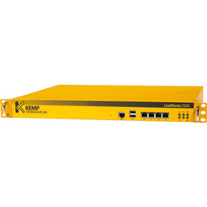 KEMP LoadMaster LM2200 Server Load Balancer - 4 RJ-45 - 1 Gbps - Gigabit Ethernet