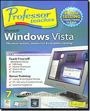 Professor Teaches Microsoft Windows Vista (Version 2)