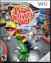 Pizza Delivery Boy (Nintendo Wii)