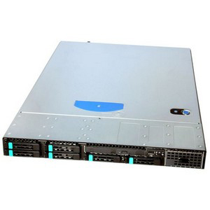 Intel SR1625URRNA Barebone System - 1U Rack-mountable - Intel 5520 Chipset - Socket B LGA-1366 - 2 x Processor Support - Serial ATA/300 RAID Supported Controller - 9 x Total Bays - 1 x Total Expansion Slots - Processor Support (Xeon)