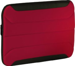 "Targus 10.2"" Zamba Neoprene Sleeve for Netbooks (Red)"