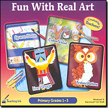 Fun With Real Art (Primary Grades 1-3)