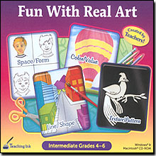 Fun With Real Art (Intermediate Grades 4-6)