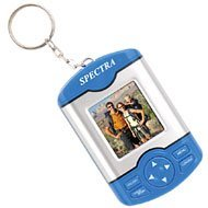 Digital Photo Frame Keychain (Blue)