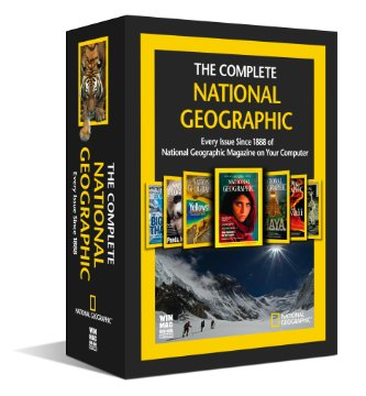 Complete National Geographic - Every Issue since 1888