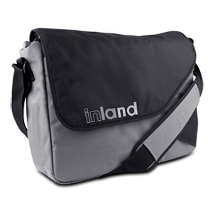 "Inland Titan Pro Messenger Bag Fits most 15.4"" Laptops"