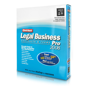 Quicken Legal Business Pro  '08  - Contracts & Forms