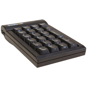 Goldtouch Numeric Keypad USB Black PC By Ergoguys - USB - 22 Key