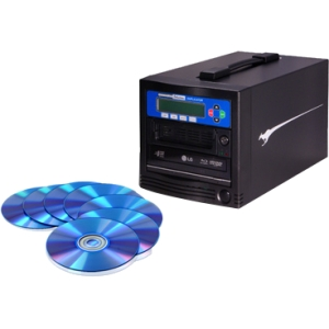 Kanguru BR-DUPE-S1 BD/DVD/CD Duplicator - Standalone - Blu-ray Writer - 8x BD-R, 16x DVD+R, 16x DVD-R, 52x CD-R, 4x DVD+R, 12x DVD-R - 8x BD-RE, 8x DVD+R/RW, 8x DVD-R/RW, 24x CD-RW - USB