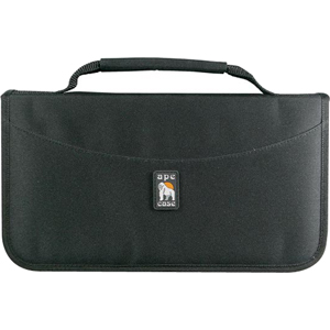Ape Case AC12442 Optical Disc Nylon Case - Holds 48 CD/DVDs