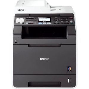 Brother MFC-9460CDN Laser Multifunction Printer - Color - Plain Paper Print - Desktop - Printer, Scanner, Copier, Fax - 25 ppm Mono/25 ppm Color Print - 2400 x 600 dpi Print - 25 cpm Mono/25 cpm Color Copy LCD - 1200 dpi Optical Scan - Automatic Duplex Pr