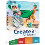 Corel Create it! - Complete Product - Image Editing - Standard Retail - PC - English