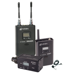 Azden 310LX Wireless Microphone System - 566.13 MHz to 589.88 MHz System Frequency