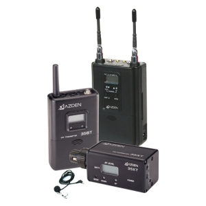 Azden 330LX Dual-Channel Wireless Microphone System - 566.13 MHz to 589.88 MHz System Frequency