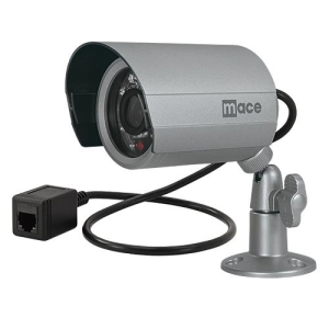 Mace Easy Watch EWC-IRB-RJ11 Surveillance/Network Camera - Color - CCD - Cable