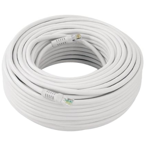 Mace KO-200 Video Cable - 200 ft - 1 x RJ-11E Male Video - 1 x RJ-11E Male Video - White