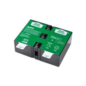 APC APCRBC124 UPS Replacement Battery Cartridge # 124 - Spill-proof, Maintenance-free Sealed Lead Acid Hot-swappable