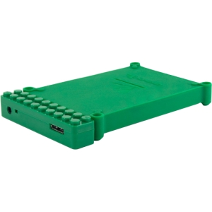 "Cavalry Bulldog CABD2BR-G Drive Enclosure - External - Green - 1 x Total Bay - 1 x 2.5"" Bay - USB 3.0"