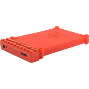"Cavalry Bulldog CABD2BR-R Drive Enclosure - External - Red - 1 x Total Bay - 1 x 2.5"" Bay - USB 3.0"