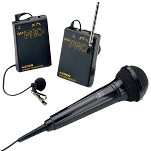 Azden WMS-PRO Wireless Microphone System - 169.45MHz System Frequency