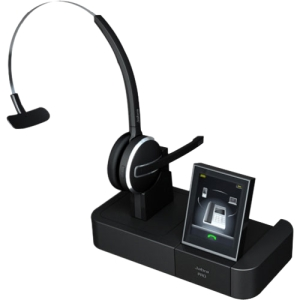 Jabra PRO 9460 Headset - Mono - Wireless - DECT - 492.1 ft - 150 Hz - 6.80 kHz - Over-the-head, Over-the-ear, Behind-the-neck - Monaural - Semi-open