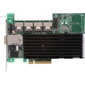 LSI Logic 3ware 9750-16i4e 20-port SAS RAID Controller - Serial ATA/600, Serial Attached SCSI (SAS) - PCI Express 2.0 x8 - Plug-in Card - RAID Supported - 0, 1, 5, 6, 10, 50 RAID Level - 512 MB