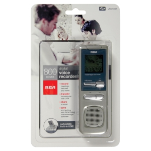 RCA VR5330R 2GB Digital Voice Recorder - 2 GB Flash Memory - Portable