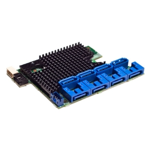 Intel RMS2LL080 8-port SAS RAID Controller - Serial ATA/600, Serial Attached SCSI (SAS) - PCI Express 2.0 x4 - Plug-in Card - RAID Supported - 0, 1, 1E RAID Level - 2 MB