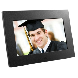 Aluratek ADPF08SF Digital Photo Frame - 8&quot; LCD Digital Frame - 800 x 600 - JPEG