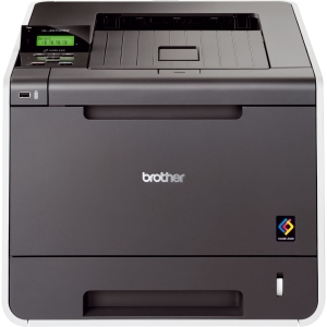 Brother HL-4570CDW Laser Printer - Color - 2400 x 600 dpi Print - Plain Paper Print - Desktop - 30 ppm Mono / 30 ppm Color Print - 300 sheets Input - Automatic Duplex Print - LCD - Fast Ethernet - Wi-Fi - USB