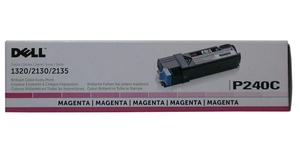Dell P240C Toner Cartridge - Magenta - Laser - 1000 Page - 1 Pack